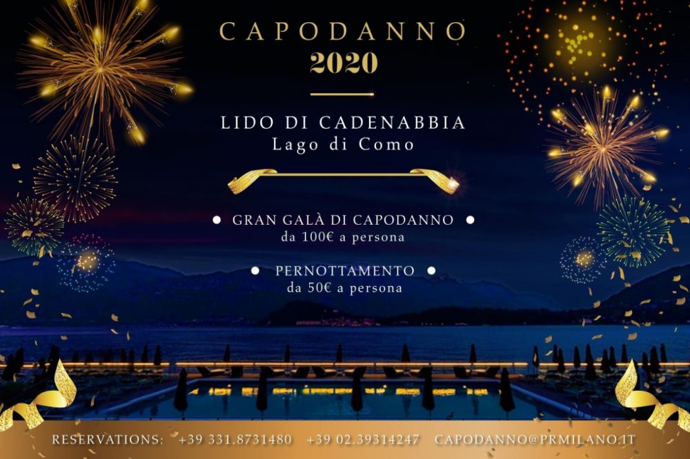 CAPODANNO HOTEL RISTORANTE LIDO DI CADENABBIA
