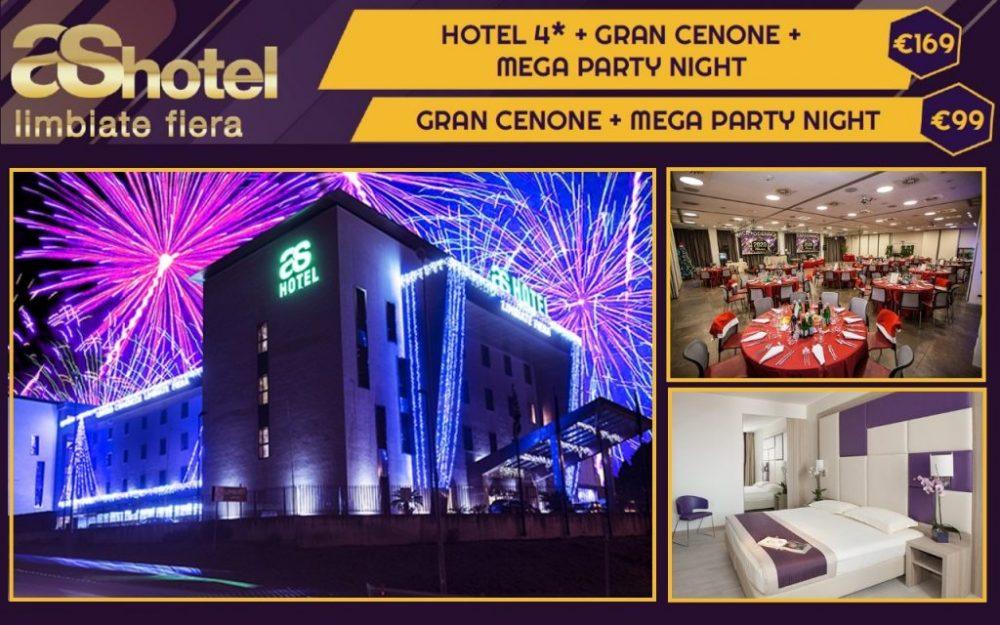 CAPODANNO AS HOTEL CENONE E PARTY OPEN BAR